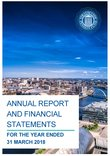 2018 annual report front cover